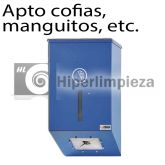 Dispensador Largo para Cofias, Manguitos y Cubrezapatos Azul