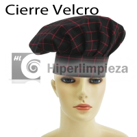 2 gorros chef red square