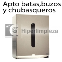Dispensador de batas desechables