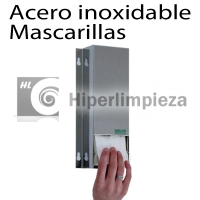 Dispensador de mascarillas vertical acero