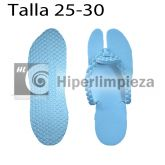 100 pares de chanclas desechables spa celeste T25-30