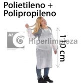 200 delantal desechable polipropileno plastificado