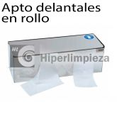 Dispensador para Delantal en rollo Acero inoxidable
